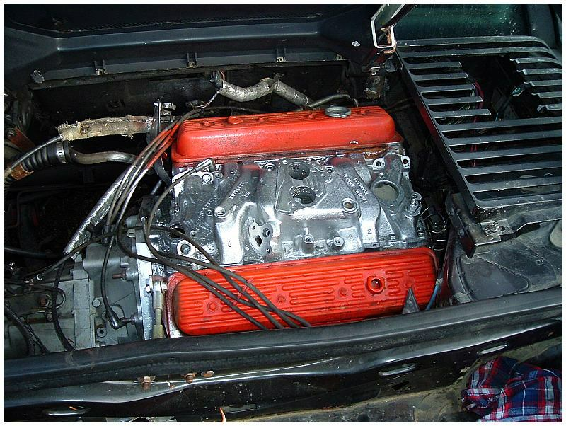 easiest fiero engine swap pictures to pin on pinterest