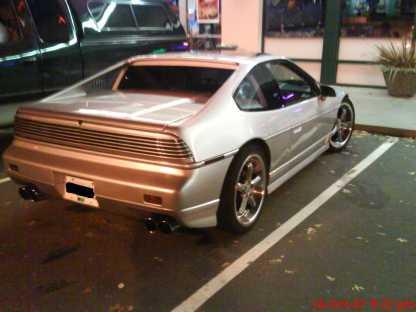 Custom Fiero Tail Lights