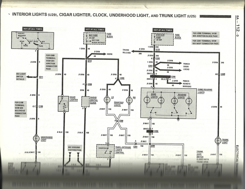 1987    Pontiac       Fiero    Wiring    Diagram     Wiring    Diagram    Pictures